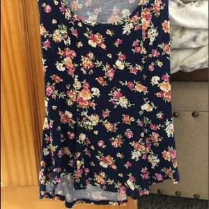 Tops - Floral Tank